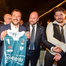 Salvini e gli Amici di Como Un assist alla nuova Cantù