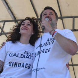Salvini a Cantù: «Droga,  operazione a tappeto»