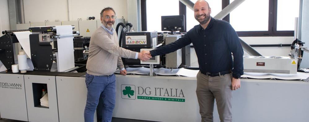 Cantù, c'è un nuovo partner È l'azienda DG Italia