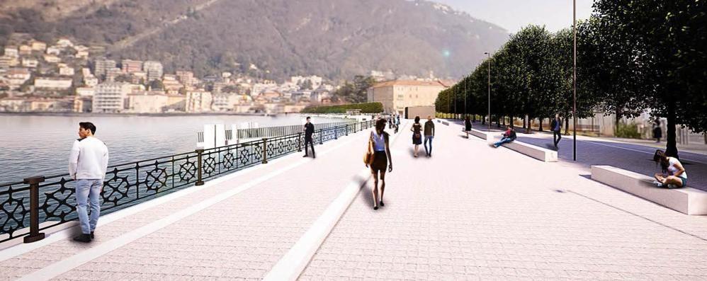 Lungolago, ancora ritardi: progetto fermo in Regione e niente bando