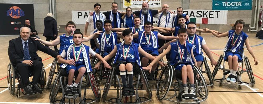 UnipolSai, il momento della gioia Con prima squadra e giovanili
