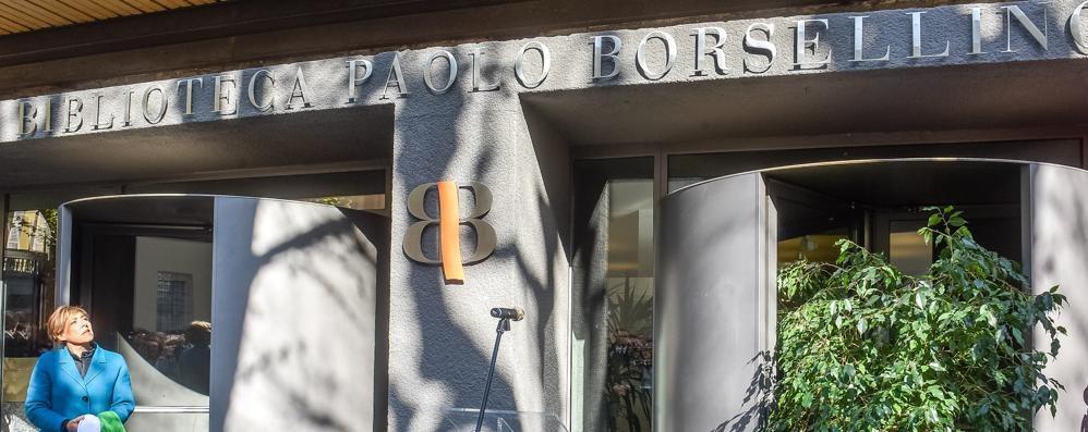 Biblioteca Paolo Borsellino  Commozione e impegno