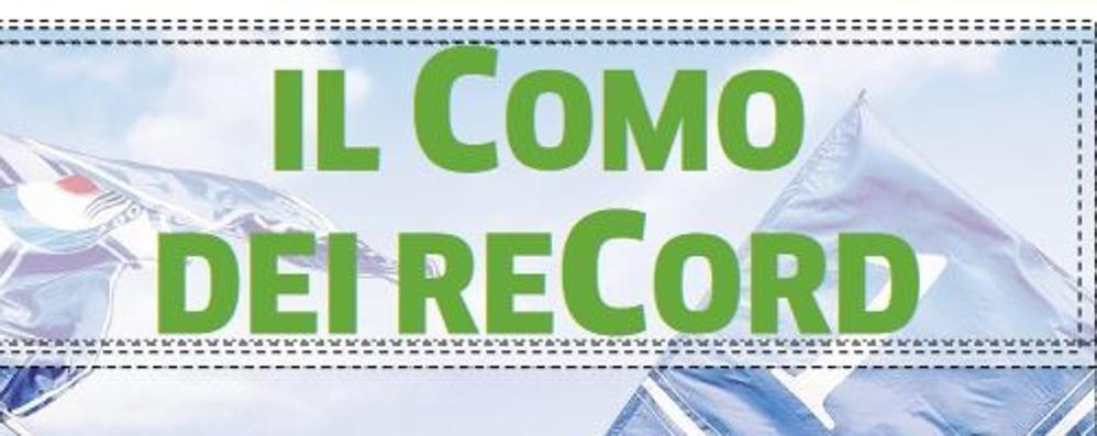 Il Como dei record  Venerdì con la Provincia  in regalo inserto di 16 pagine