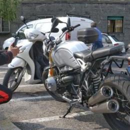 Scontro in via Italia Libera Ferito un motociclista
