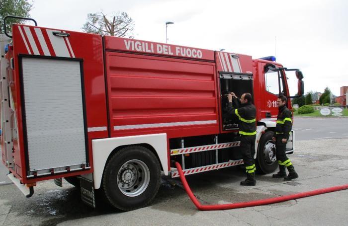 Faloppio Autobotte dei vigili del fuoco