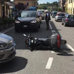 Altro incidente all'incrocio Code a Montano Lucino