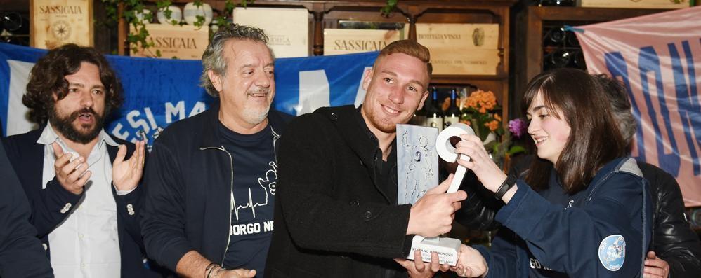 Gabrielloni premiato  A lui il Trofeo Borgonovo