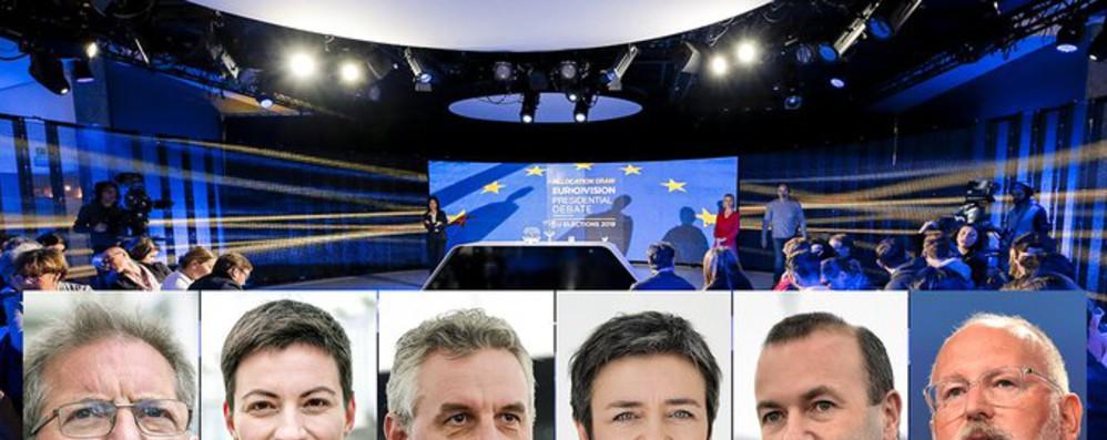 Europee: stasera a Bruxelles dibattito tra 6 spitzenkandidat