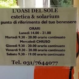 Furto al centro estetico ad Arosio  Giù il vetro con la scure, via con 50 euro