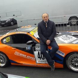 Super Simoncini al Nurburgring «Avevo una macchina da urlo»