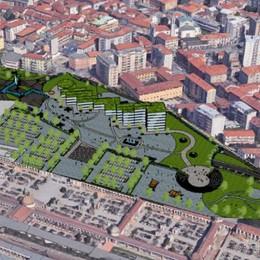 Il nuovo progetto Ticosa riassume decenni di idee  Rotatoria, tunnel e mille parcheggi