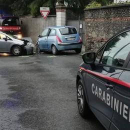 Due incidenti nel giro di pochi minuti  Feriti a Uggiate e a Faloppio