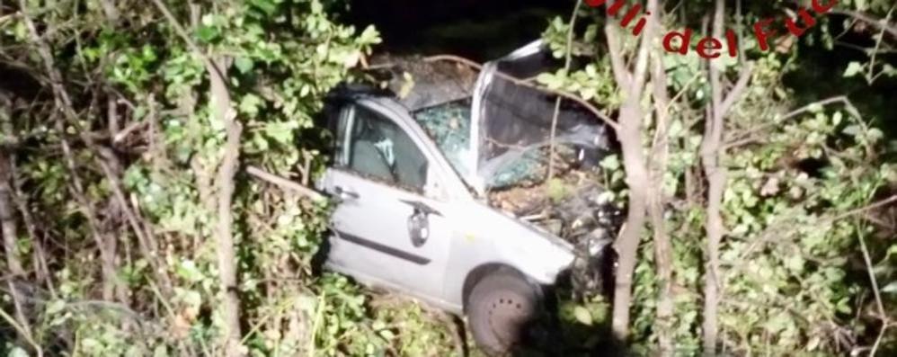 Frontale tra due auto  Tre feriti a Carimate