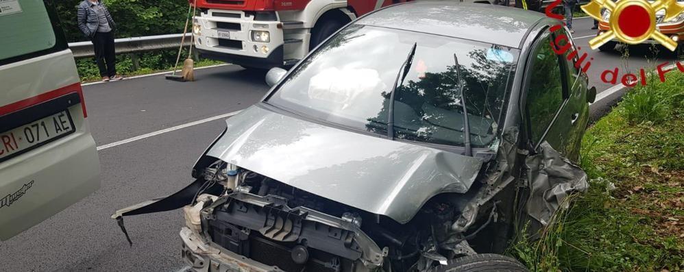 Incidente tra Cantù e Alzate    Traffico paralizzato per un'ora