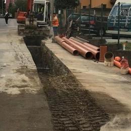 Cantieri, caos ieri mattina a Cantù   Fino a 40 minuti per attraversarla