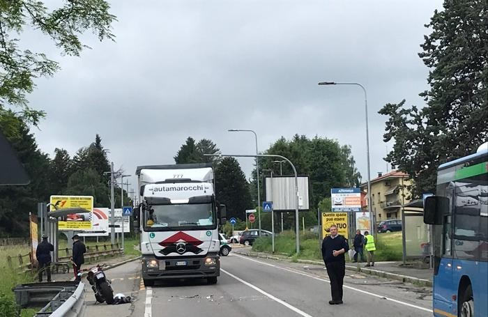 Olgiate Comasco incidente mortale con auto pirata sulla Statale Briantea, morto Stefano Lojacono di Tradate