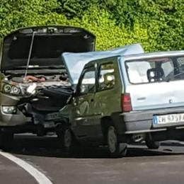 Brienno, scontro sulla Regina  Due feriti e traffico in tilt