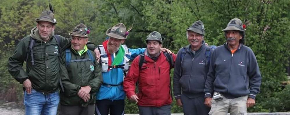 I cento anni delle Penne nere  A Milano 3mila alpini comaschi