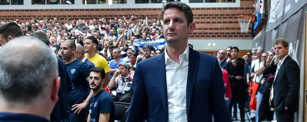Rossini: «Domenica vinciamo noi  Ma Cantù andrà ai playoff»