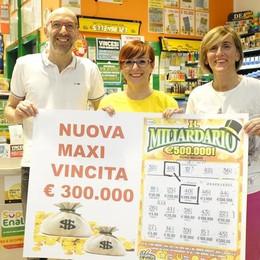 Cantù, colpo grosso al Mirabello  Una vincita di 300mila euro
