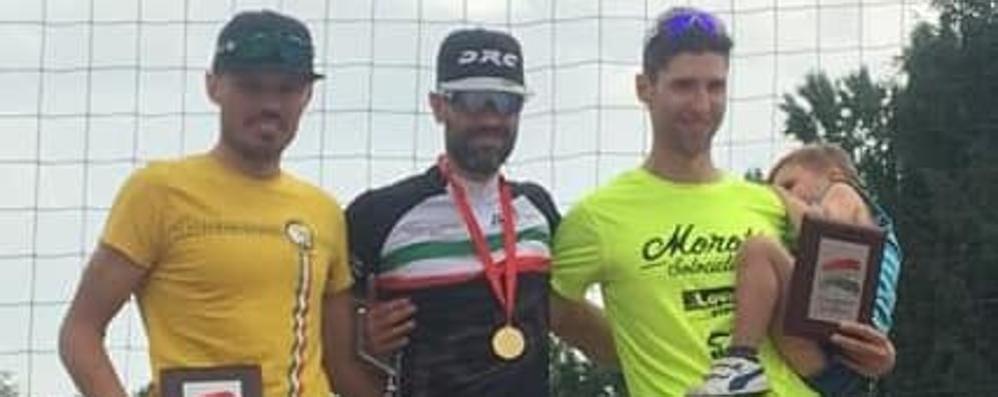 Bravi Testa e i Bergamini Sono ciclisti da titolo