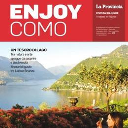 In edicola Enjoy Como  il magazine del turismo