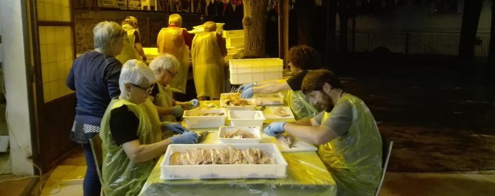 Nel lago non c'è abbastanza pesce  Festa con lavarelli della Danimarca