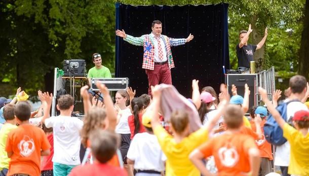 Cernobbio, Meeting del Grest  Folla di 750 bambini a Villa Erba
