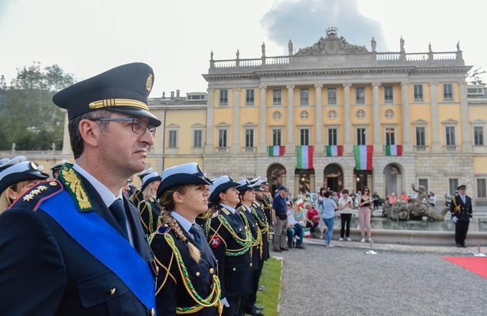 La festa dei 150 anni della Polizia Locale