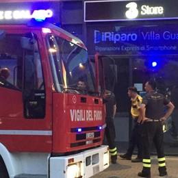 Allarme incendio al Centervill  Ma era l'impianto anti furto