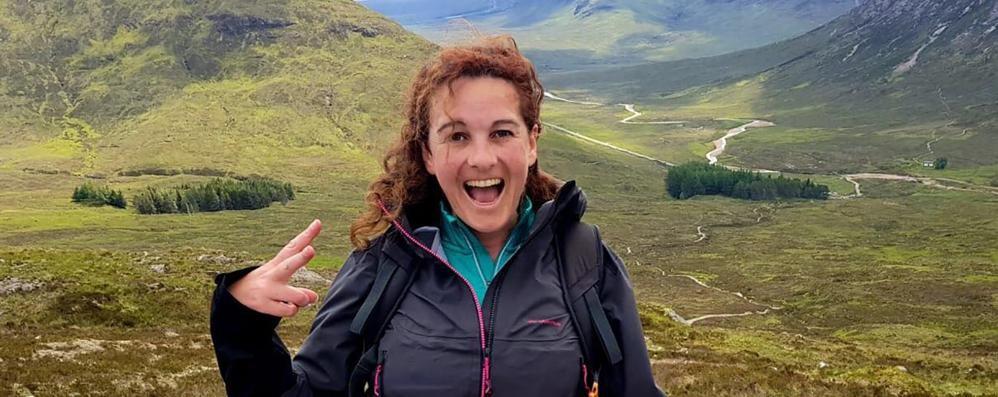 A piedi in Scozia per 155 km  Ecco la mamma da record