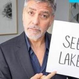 Clooney arrivato a Laglio  Aspettando Obama