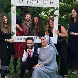 Cardinal Ferrari stile Usa  Party per i diciottenni a Cantù