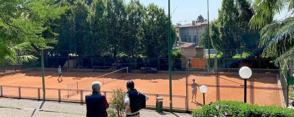 Nuovo Tennis club  sarà il cuore di Erba