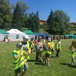 San Fermo, al campo scuola  Duecento bimbi in tenda