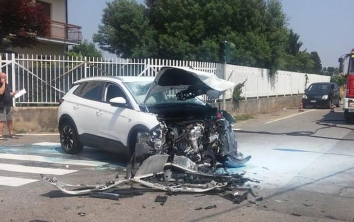 Incidente a Turate  Coinvolte tre persone
