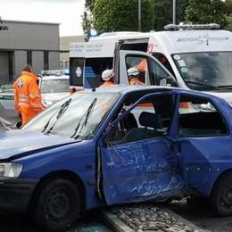 Incidente a Mariano   Un ferito in ospedale