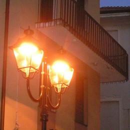 Lomazzo investe sull'illuminazione  «Nuovi lampioni anche in periferia»