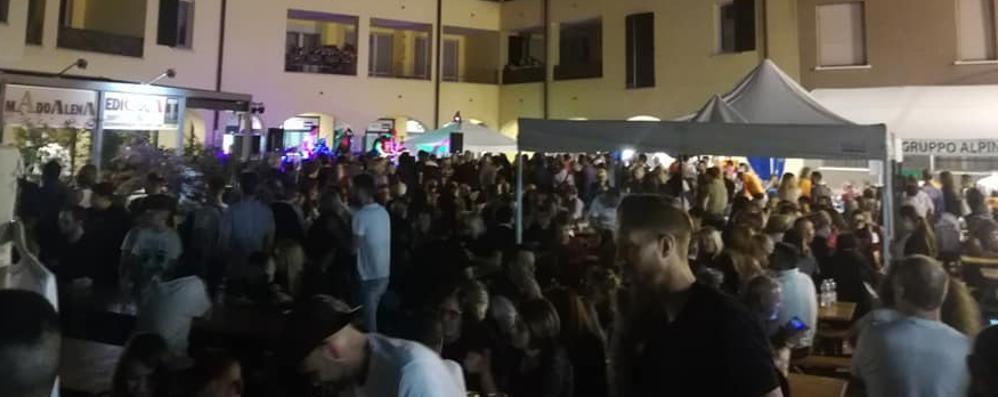Solbiate è la capitale dei golosi  In settemila per lo street food
