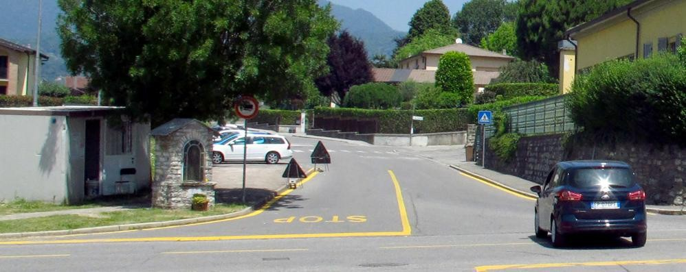 Nuova rotonda a Orsenigo  La Madonnina sarà spostata