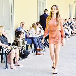A Como sfilata del Casnati  Il fashion è  sostenibile