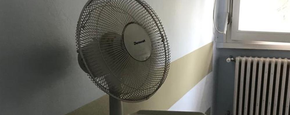 Cantù, l'ospedale   come un forno: 33 gradi