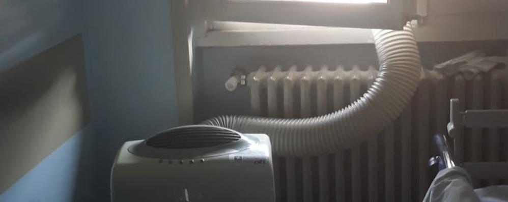 Troppo caldo all'ospedale, la beffa  A Cantù condizionatori inadatti