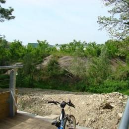 Nuova pista nella Spina Verde  Unirà l'ospedale a Cavallasca