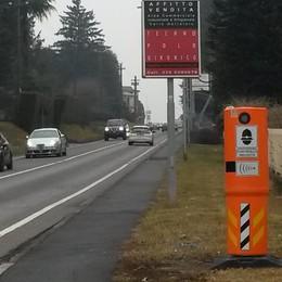 Olgiate, strade pericolose  «Servono autovelox fissi»