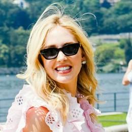 Chiara Ferragni, una giornata sul lago  per l'influencer famosa in tutto il mondo