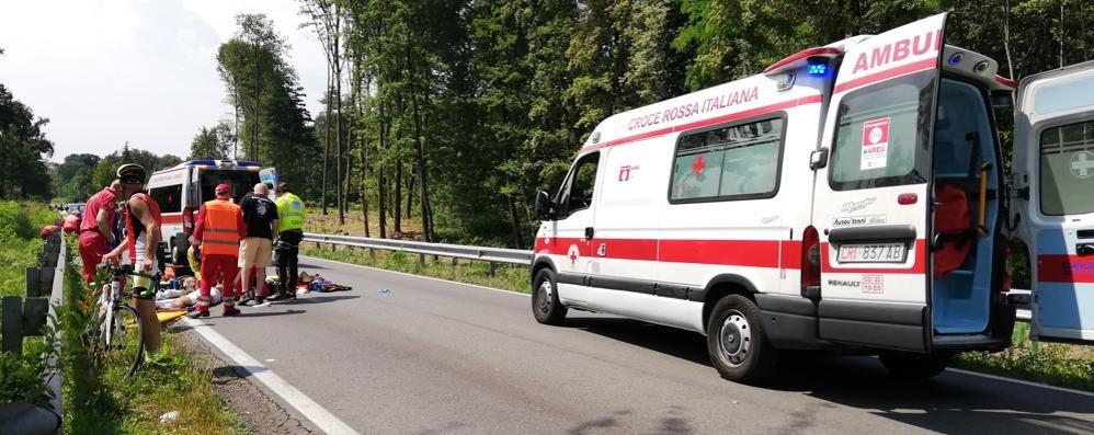 Ciclisti travolti a Novedrate Morto un canturino