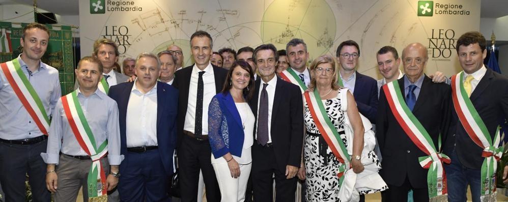 Fontana incontra in Regione i sindaci neoeletti a Como