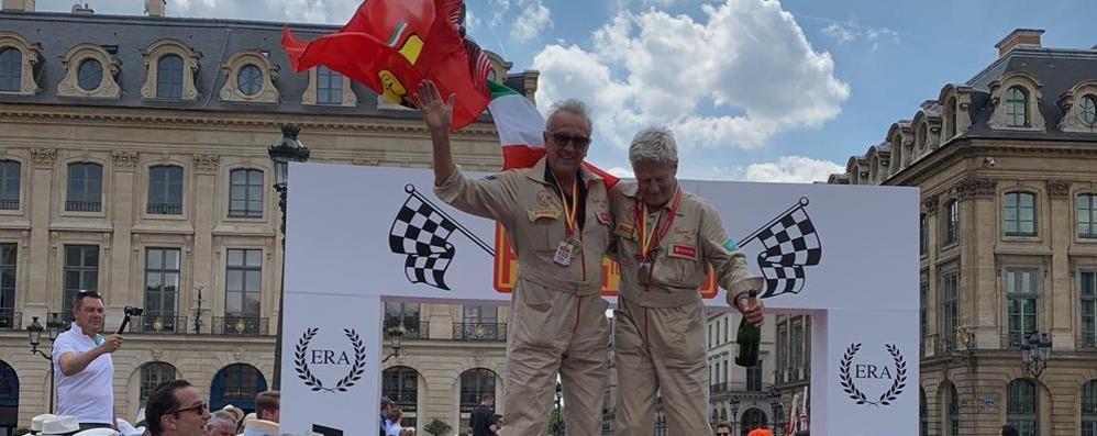 Il comasco Guggiari  Con la Ferrari  da Pechino a Parigi