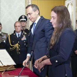 Locatelli: «Io ministro  ma leghista di battaglia»